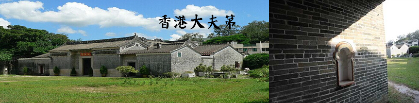 香港大夫第位于香港元朗新田永平村,是香港法定古迹。这座华丽的府第于1865年(清同治四年)由文颂銮所建。文氏的先祖自15世纪已在新田定居。大夫第是香港最华丽的传统建筑之一,并以其精巧的建筑装饰而著名。修葺工程由香港赛马会资助,于1988年完成,现已开放供市民参观。         这座文物瑰宝,是新界其中一座装饰华丽的建筑。大夫第前后均开辟了广阔的庭园,四周有青砖墙环绕。整座建筑物用单色及彩色灰塑壁画和木刻作装饰,而大多数壁画又以中国传统吉祥物和图案为题材。一般的中国动植物和鸟类,包括梅兰菊竹、蝠鹿麒麟等,都是常见的装饰形象。