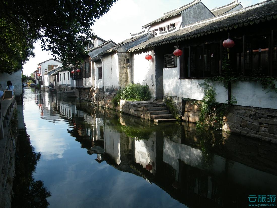 周庄古镇 江浙胜景 江苏旅游景点