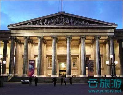 大英博物馆。