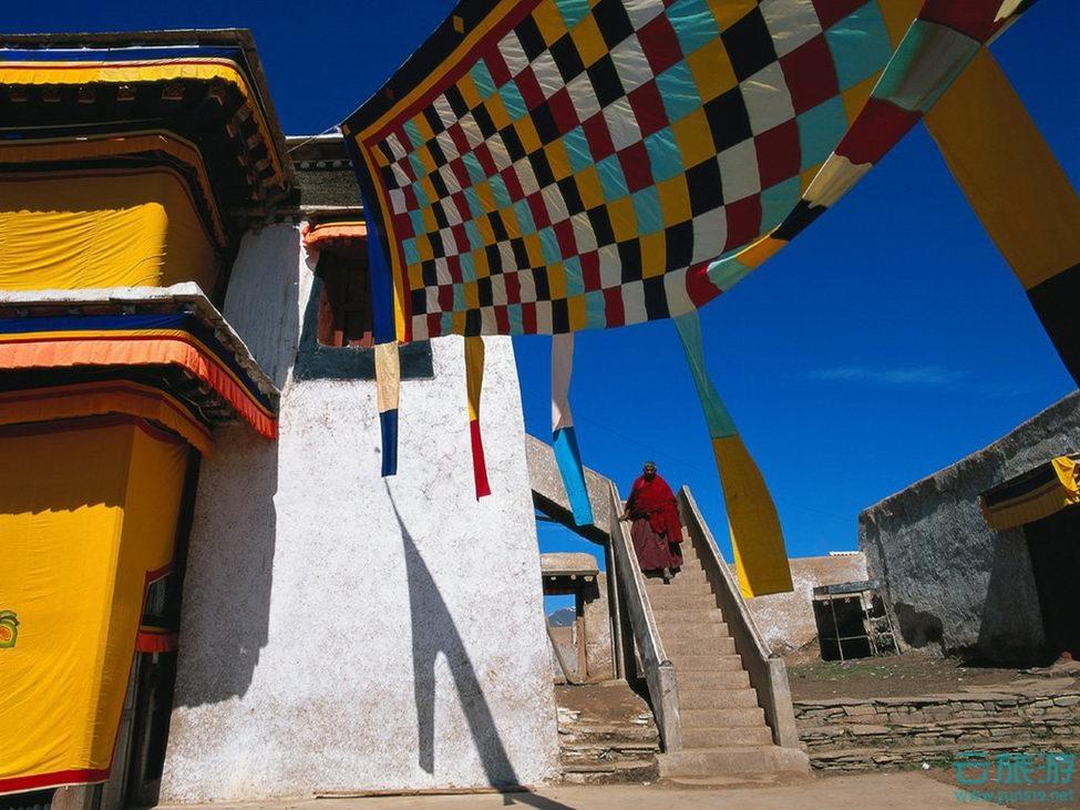 布达拉宫,西藏拉萨旅游必到景点。