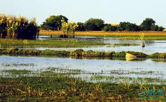 班韦乌卢湿地系统。