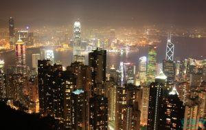 香港繁华夜景