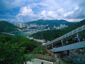 山水相依的香港