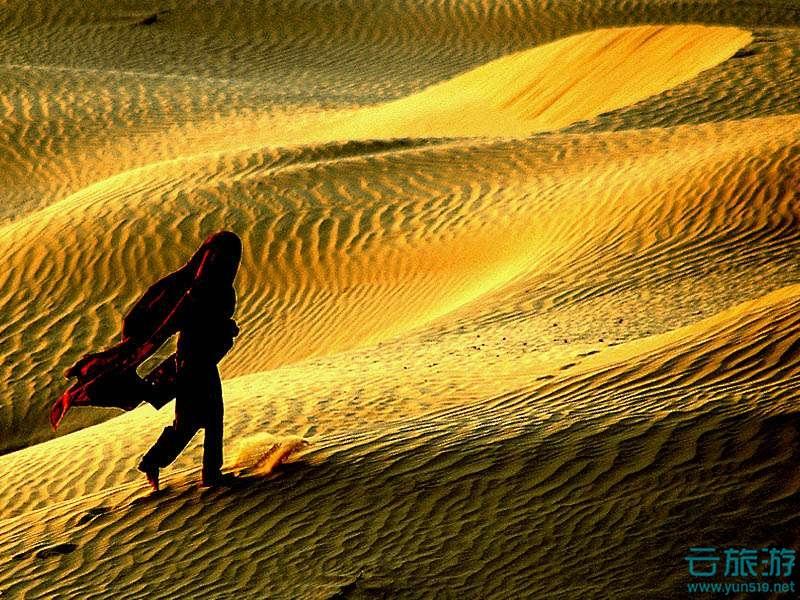 塔尔沙漠 - 旅游景点介绍_电子地图_旅游攻略 - 云