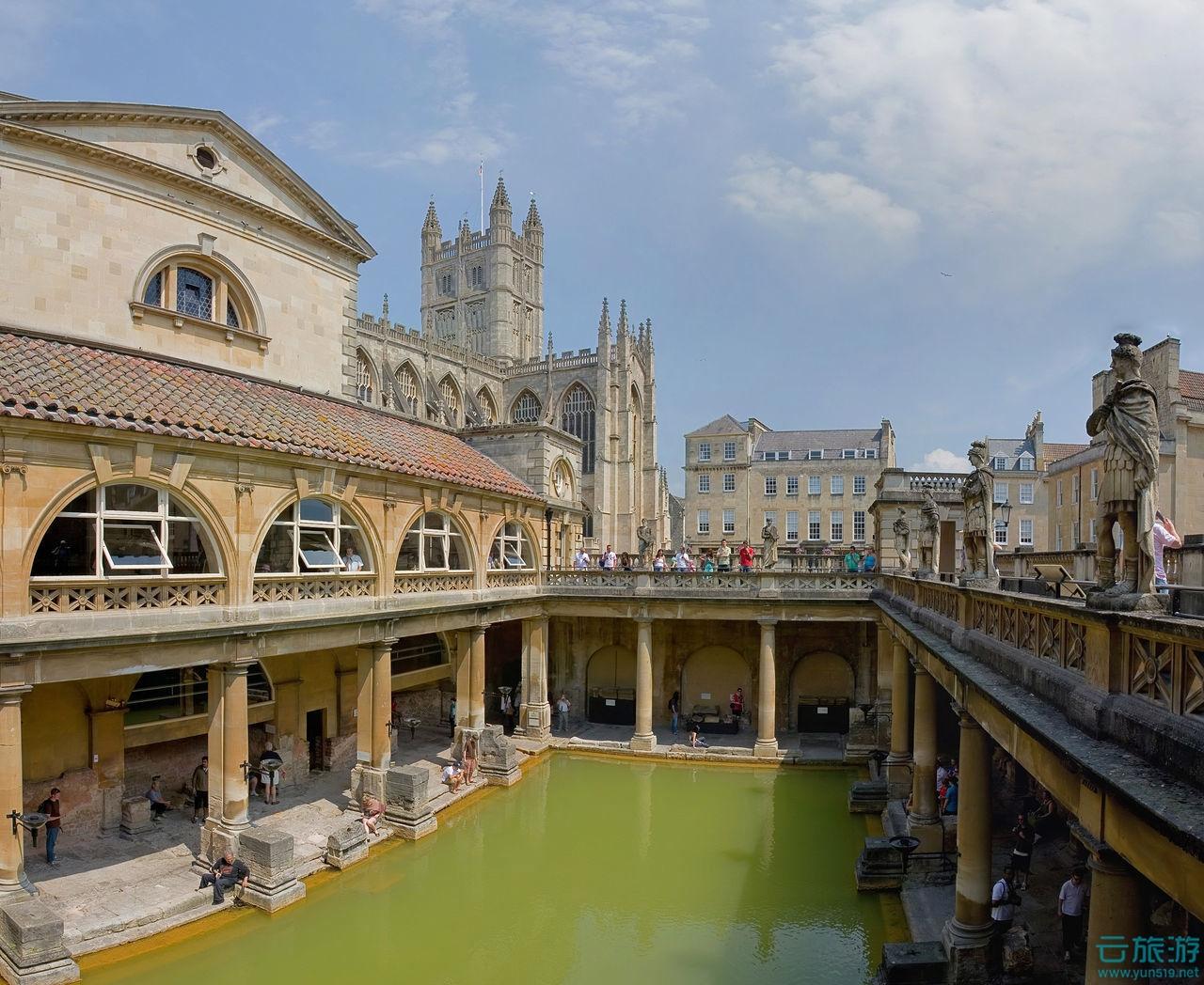罗马浴池 游遍欧洲 西欧旅游景点