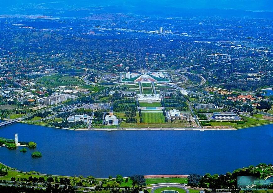 世界名城堪培拉,澳大利亚的新首都。