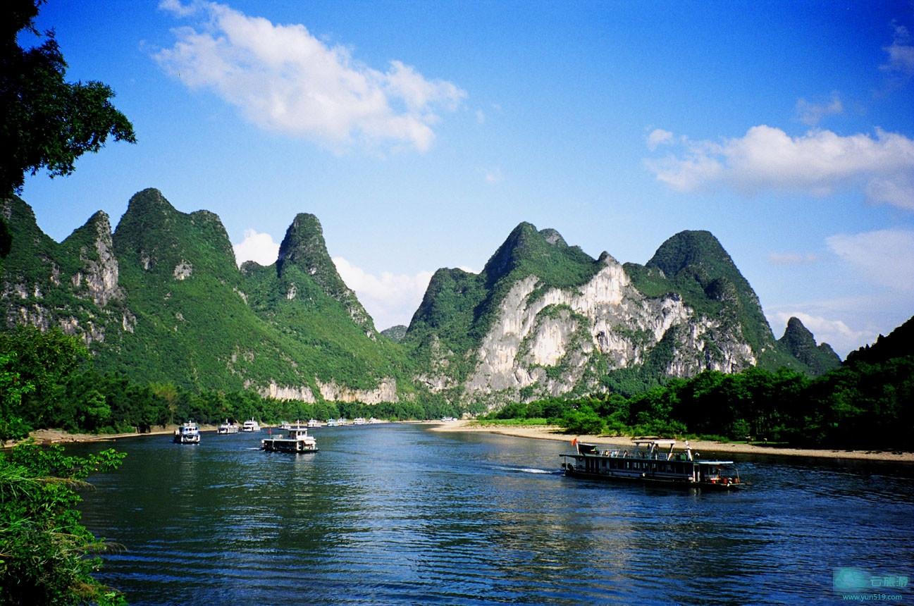 天亿网 九到十一岁儿童学画桂林山水 > 广西桂林风光照片  广西桂林