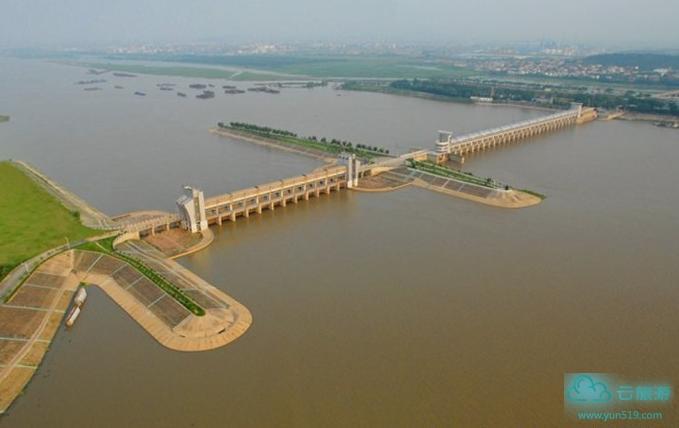 淮河蚌埠闸水利风景区