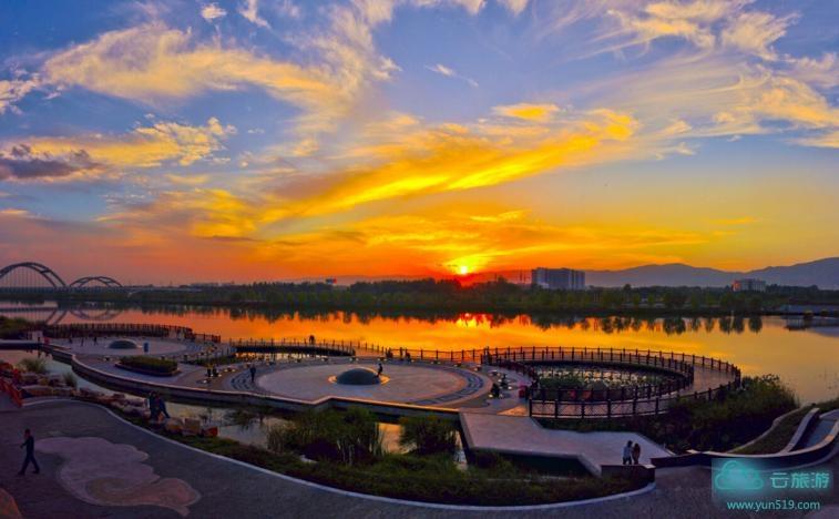 临汾汾河公园 - 云旅游 - 景点介绍_地图_旅游网